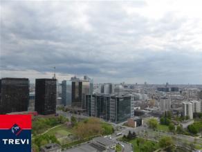 BRUXELLES, (26D) au 26ème étage de la toute nouvelle et prestigieuse tour UPSITE alliant luxe, modernité et sécurit&eacute