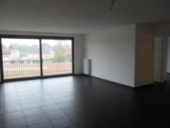 Ruim nieuwbouw appartement van 100m² met zuidgericht terras, twee slaapkamers van 12m² en 8m², living met volledig geinstalleerde open