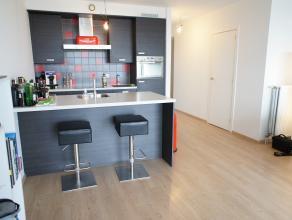 Luxe nieuwbouw (2010) appartement met twee slaapkamers, terras en auto-staanplaats in een modern gebouw met lift in het centrum van Wilrijk! Indeling: