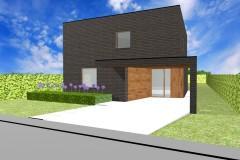 De woning beschikt over een ruime leefruimte met open keuken en twee ruime bergingen. Op het eerste verdiep bevinden zich 4 ruime kamers en een grote