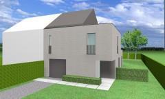 De woning beschikt over een ruime leefruimte met open keuken, berging en garage. Op het eerste verdiep 3 ruime kamers en een grote badkamer en apart t