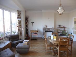 VERVIERS - rue de France : Bel appartement très lumineux de 110 m² à louer dans une petite résidence calme avec ascenseur. I