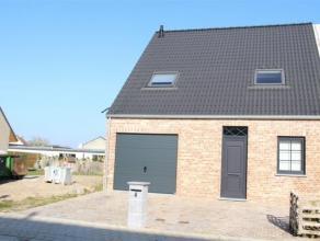 Nieuw te bouwen woning op een grondoppervlakte van 313 m² op een zeer rustige ligging! Reeds voorzien in deze woning: ingerichte keuken, badkamer