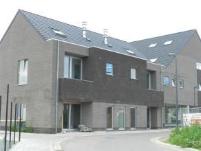 Appartement nouvelle construction avec emplacement voiture et cave - balcon et grande terrasse (25m²) - 75m² avec hall, living, cuisine quip