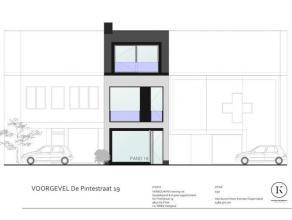 Commercieel om te vormen woonhuis in het centrum van De Pinte. Op wandelafstand van de parking van de kerk en nabij heel wat commerciële handelsz