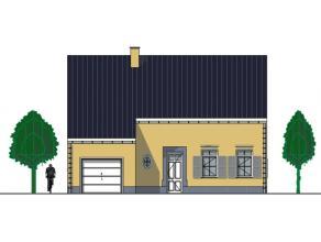 Bouwproject: grond met afgewerkte woning. Zuid gericht. Rustig en landelijk gelegen. Op wandelafstand van openbaar vervoer, school, banken, post, ware