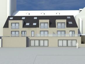 """Appartement in het nieuwbouwproject """"Residentie Mercatus"""" vlakbij de kerk in hartje Zelzate. Dit appartement is 111m2 groot en heeft een private terra"""