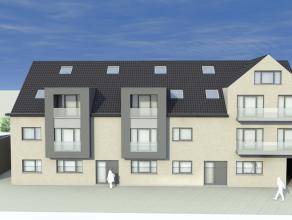 """LAATSTE TWEE Duplexappartementen in het nieuwbouwproject """"Residentie Mercatus"""" vlakbij de kerk in hartje Zelzate. Dit appartement is 85m2 groot en hee"""