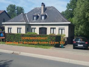OPENHUISDAG 12/12/2015 TUSSEN 11 U en 13 U!!!!! Deze villa, type bungalow,op  een perceel van 13a15ca, bevindt zich in het landelijke Zandbergen op ee