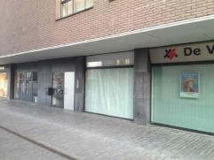 Commercial surface on ground floor located in the center of Kapellen right in front of the Shopping Center Promende.