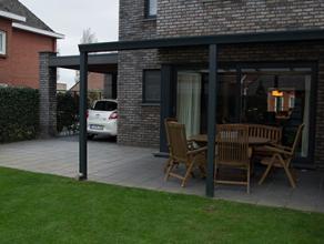 3 SLK HOB met dubbele carport volledig in orde op perceel van 288m² uit 2012 nabij het centrum van Overpelt ! <br /> MOGELIJKHEID OM TE KOPEN OND