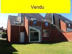 VENDU. A proximité du Bois de la Houssière, des étangs et proche du centre, une nouvelle construction 3 façades idé