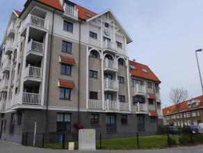 Nieuwbouwappartement te koop te Zeebrugge. Het appartement heeft een bewoonbare oppervlakte van ca. 90m² en kijkt uit op de oude Vissershaven. He