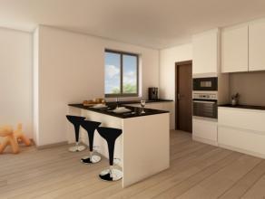 Luxueus nieuwbouw residentie met 12 appartementen in Knokse villa stijl. Tuin van 216 m² met terras! Gebouwd met de beste materialen . De vermeld