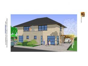 Nieuw te bouwen, betaalbare lage energie, half open bebouwing. Volledig traditioneel en afgewerkt met keuken, badkamer, ruime living, inkom, wc, bergi