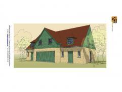 Gesloten bebouwing, volledig traditioneel en volledig afgewerkt met keuken, badkamer, ruime living, inkom, wc, berging en 3 slpks. Ruime keuze van mat