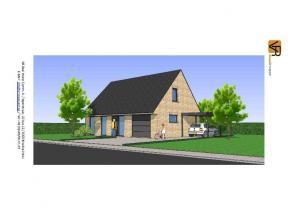Nieuw te bouwen, betaalbare lage energie open bebouwing. Volledig traditioneel en afgewerkt met keuken, badkamer, ruime living, inkom, wc, berging, ee
