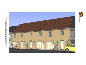 Deze nieuw te bouwen woning wordt een gesloten lage energiewoning. In de geplande woning zitten een keuken, een badkamer, een ruime woonkamer, een ink