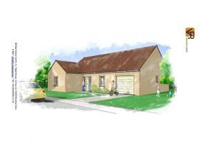 Deze nieuw te bouwen woning wordt een open lage energiewoning. In de geplande woning zitten een keuken, een badkamer, een ruime woonkamer, een inkomha