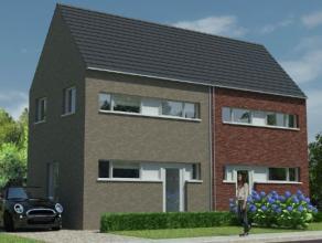 Deze nieuw te bouwen woning wordt een halfopen lage energiewoning. In de geplande woning zitten een keuken, een badkamer, een ruime woonkamer, een ink