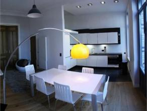 SCHAERBEEK / PARC JOSAPHAT - Dans une prestigieuse maison de Maître, sublime duplex 2 chambres, +/- 90 m², salon, cuisine ouverte super &ea