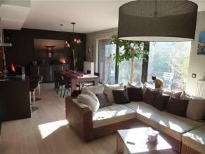 BD WOLUWE // CH LOUVAIN // Luxueux appartement meublé, 2 chambres, hall avec éclairage au sol, living lumineux avec jolie décorat