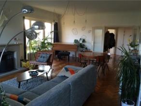MEISER // SCHAARBEEK // appartement spacieux (+/-120m2), composé d'un hall d'entrée, WC séparé, un grand séjour lum