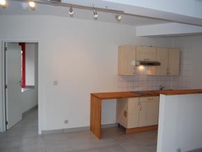 Appartement 2 chambres d'une surface 55 m² entièrement rénové avec balcon composé d'un living de +/- 18 m², de d