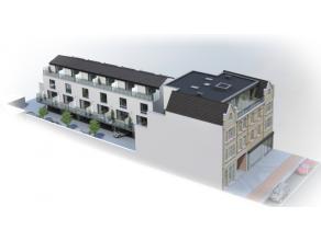 Dit appartement is gelegen op de tweede verdieping in het project Brouweryen. Het appartement heeft een oppervlakte van 103 m² en beschikt over 2