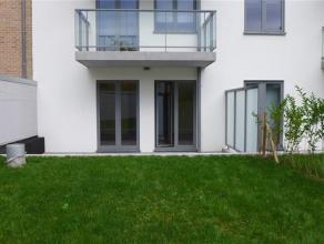 Basilique, dans quartier résidentiel. Très bel appartement NEUF de 120 m² avec beau jardin (± 20 m²) et grandes terrass
