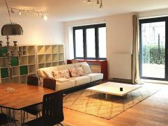 MODERN FURNISHED APT 1 BEDROOM with GARDEN near Schuman! Proche Jamblinne de Meux, limite Etterbeek & Woluw-St-Lambert, dans nouvelle construction