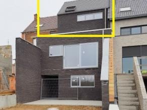 IN OPTIE  Dit modern nieuwbouwappartement (95m²-casco) met 2 slaapkamers en terras is gunstig gelegen nabij het centrum van Geraardsbergen en hee