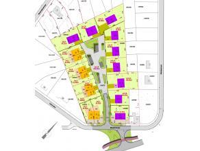 Lot 17 gelegen aan de Meeënheide heeft een oppervlakte van 7a 00ca.Het maakt deel uit van een goedgekeurde verkaveling, is 26,50m breed aan de we