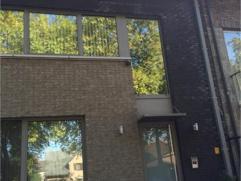 Duplex appartement in loftstijl (125m2), nabij centraal station en op 5 minuten van de E19 en centrum. Riant terras 35m2 met ruimtelijk uitzicht. 2 sl