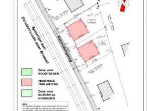 Perceel bouwgrond LOT 2 van +/- 5a02, gelegen tussen Opwijk en Merchtem. Deze bouwgrond is geschikt voor OPEN bebouwing.