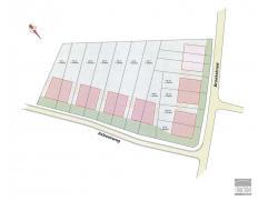 LOT 14: Bouwgrond te koop gelegen op een rustige locatie te Opwijk nabij centrum. Perceel bouwgrond met een breedte van 6m aan de straatzijde en een d