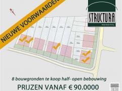 LOT 11: Bouwgrond te koop gelegen op een rustige locatie te Opwijk nabij centrum. Perceel bouwgrond met een breedte van 11,5m aan de straatzijde en ee