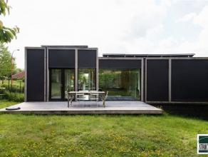 Prachtige design villa passief gebouwd gelegen nabij centrum Asse in een residentiële villawijk. De woning, met een bewoonbare oppervlakte van 24