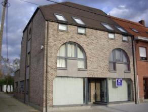 Ruim (85m²) handelspand met keuken en sanitair gedeelte (wc) in recent gebouw. Mooie afwerking(parket). Het pand beschikt over een parkingplaats