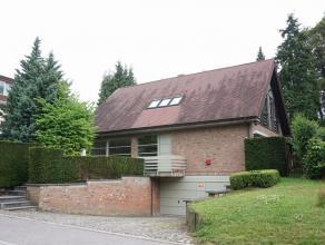 Jolie maison à louer à Tervuren à 100 m. de la British School<br /> Luxueuse et très claire villa située dans quart