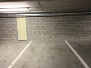 Te huur ondergrondse staanplaats in hartje Mechelen, veilig en vlot parkeren nabij de grote markt en de veemarkt.