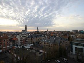 Ruim appartement met prachtig uitzicht over Mechelen en op wandelafstand van de grote markt met autostaanplaats. Dit appartement omvat een lichtrijke