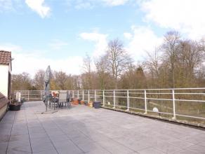 Ruim dakappartement met fantastisch terras van 90m², zicht op het Tivolipark en de Vrouwvliet. Gunstige ligging met snelle toegang tot E19 en all