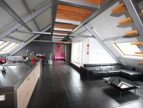 Ruime loft /penthouse ( +/- 150m²) met 3 slaapkamers gelegen in de voormalige meubelfabriek 'Usine à Vapeur'. Heden is deze gerenoveerd en
