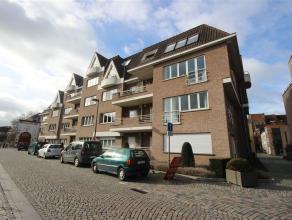Ruim appartement in hartje Mechelen met zicht op de Dijle, twee slaapkamers, twee badkamers en autostaanplaats. Dit appartement omvat een woonkamer me