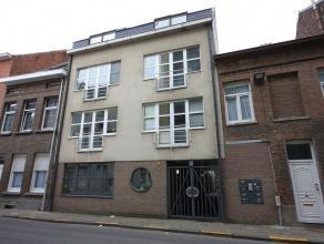 Gezellig appartement met 1 slaapkamer en lift in het stadscentrum van Mechelen. Dit appartement omvat een woonruimte met open keuken, douchekamer, apa