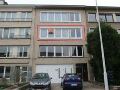 Mooi en gezellig appartement (112m²) met een inkomhal, ruime living, keuken, badkamer, bergplaats en 2 slaapkamers. Het appartement heeft een kel