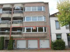 Zeer gunstig gelegen luxueus appartement met 2 slaapkamers, living ca. 50 m²,modern ingerichte keuken en badkamer,inpandige garage en lift. Bouwj