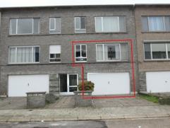 Instapklaar duplex appartement van ca 140 m² met inpandige garage, gezellige tuin van ca 60 m², ruime living, geïnstalleerde keuken, 3