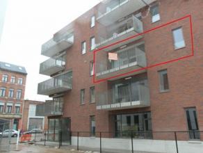 Zeer aangenaam nieuwbouwappartement met 2 slaapkamers nabij park 'Spoor Noord'. Terras en lift aanwezig. Mogelijk autostaanplaats mits meerprijs.